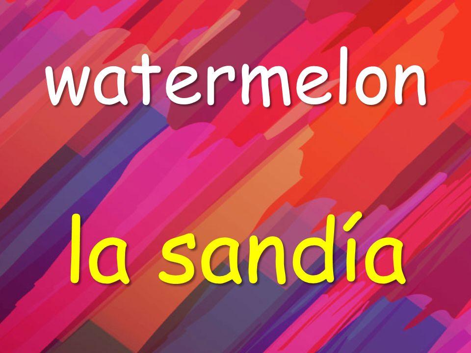 watermelon la sandía