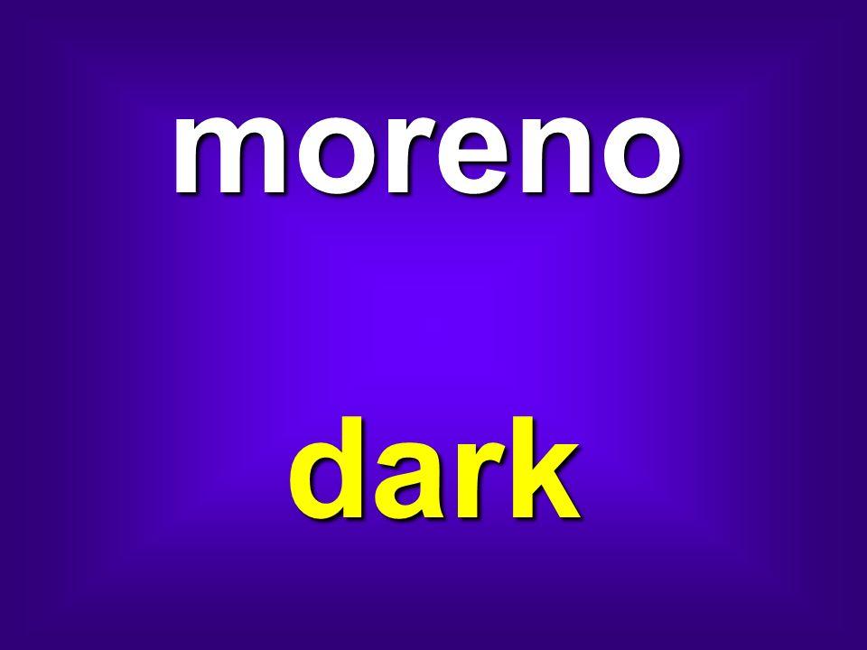 moreno dark