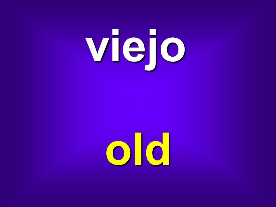viejo old