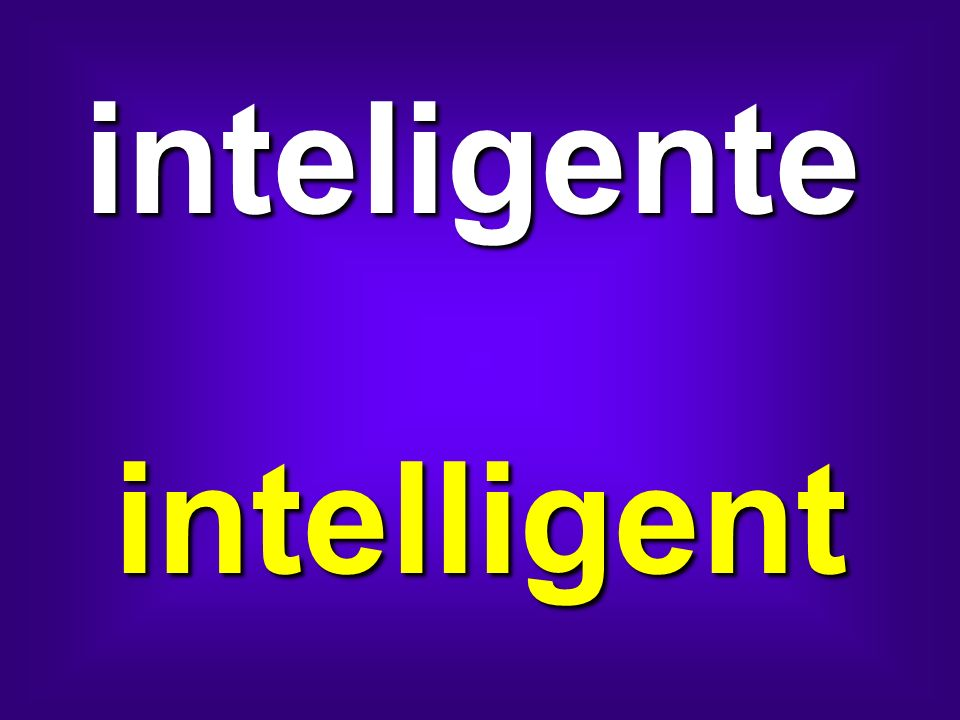 inteligente intelligent