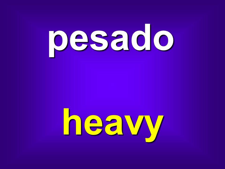 pesado heavy