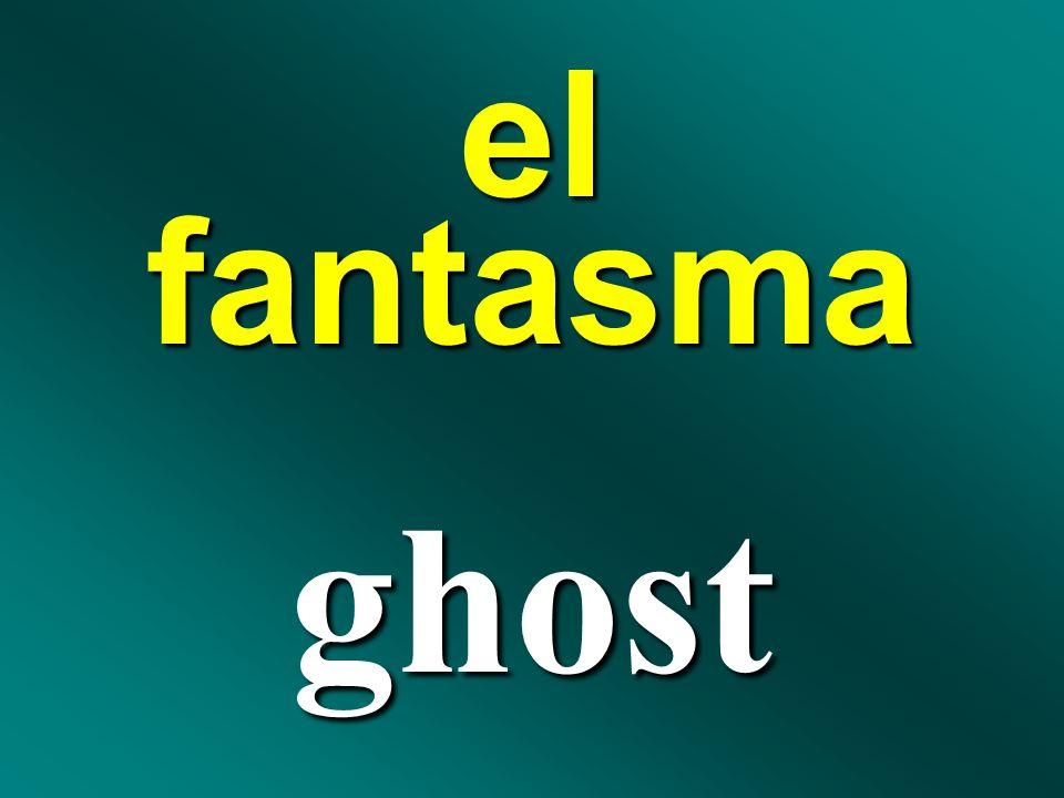 el fantasma ghost
