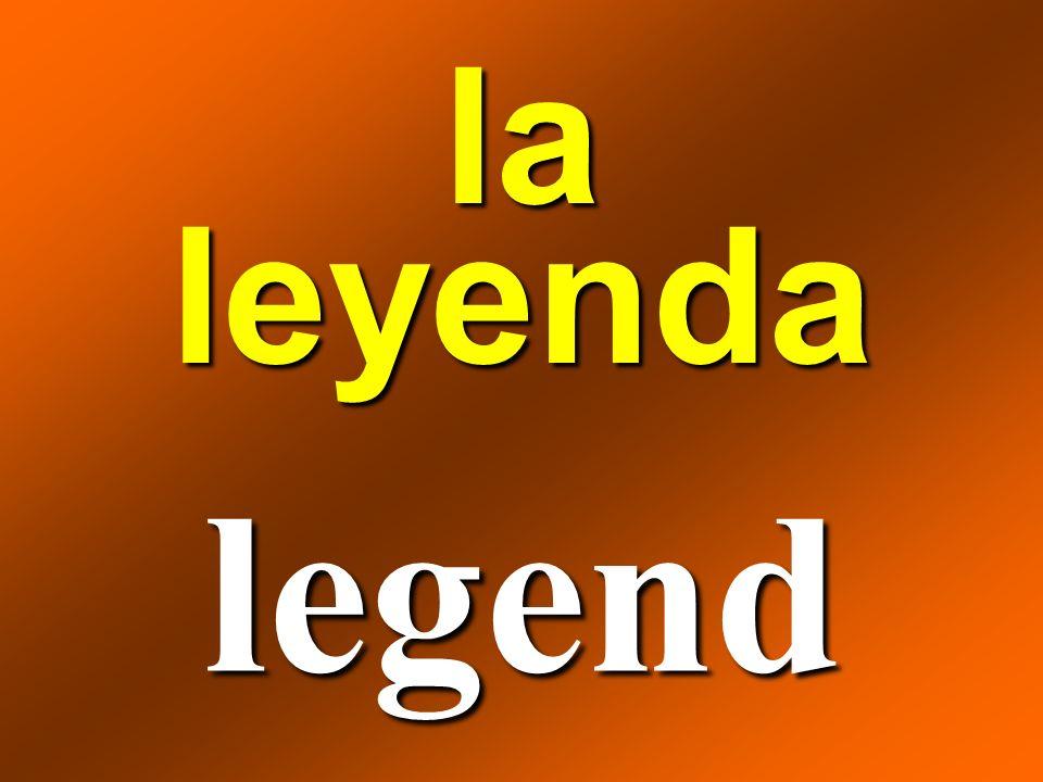 la leyenda legend