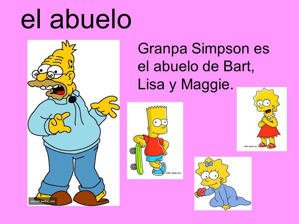 La abuela Grandma Squarepants es la abuela de SpongeBob.