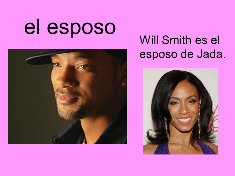 el esposo Will Smith es el esposo de Jada.