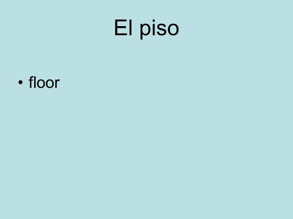 El piso floor