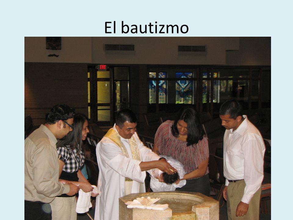 El bautizmo