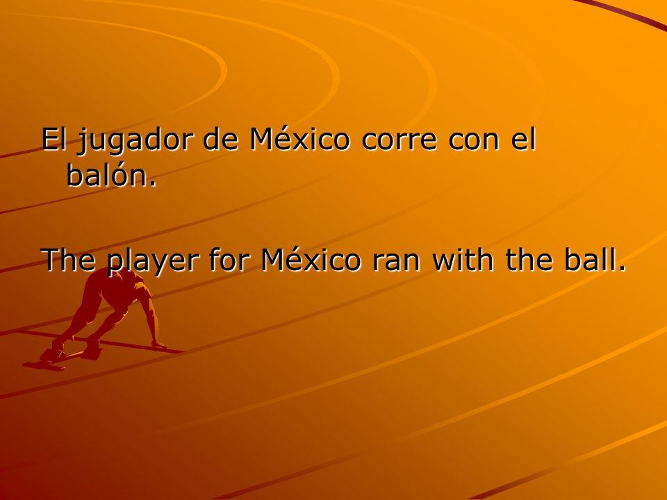El tanto por México es diecinueve y el tanto por Colombia es veinte.