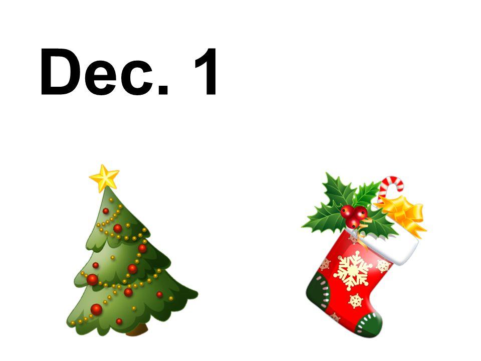 Dec. 1