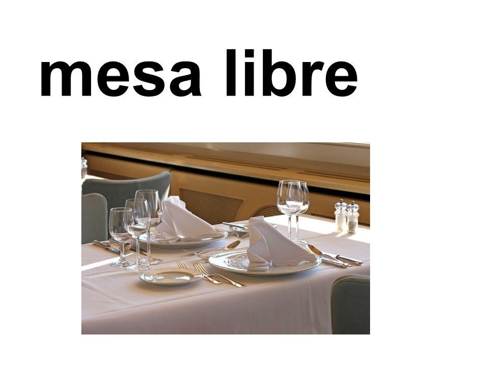 mesa libre