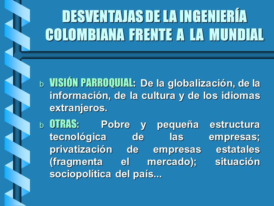 VISIÓN PARROQUIAL: De la globalización, de la información, de la cultura y de los idiomas extranjeros. VISIÓN PARROQUIAL: De la globalización, de la i