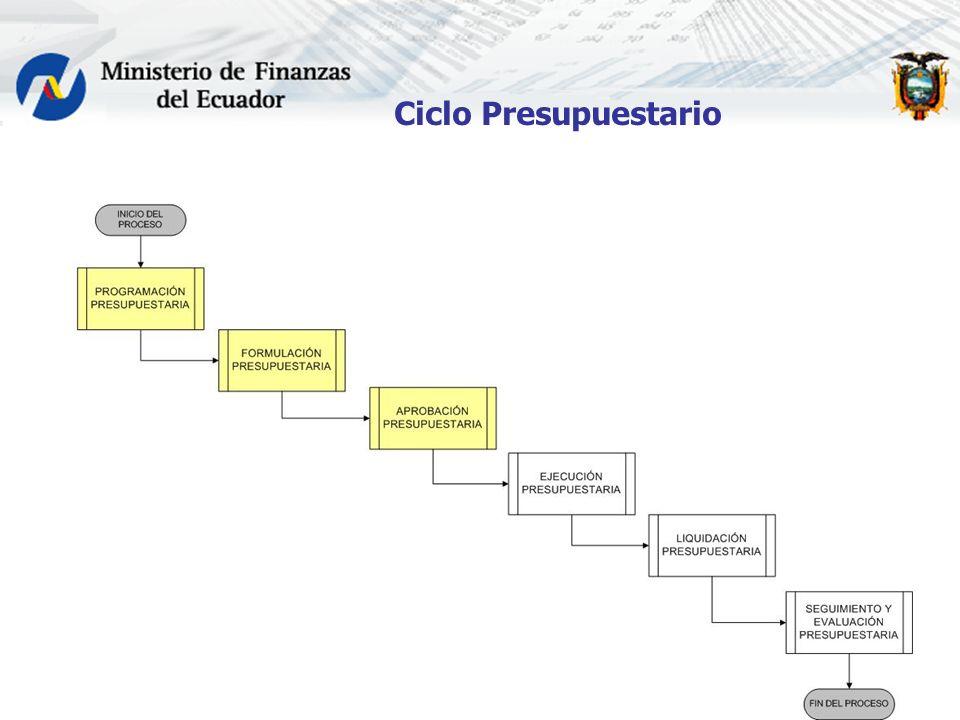Ciclo Presupuestario