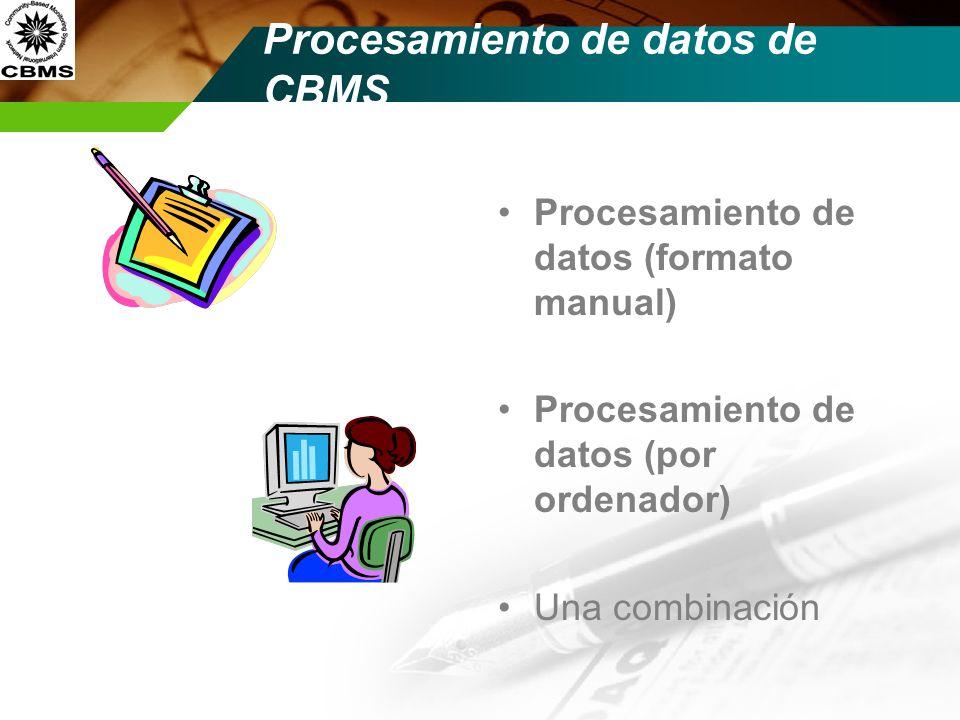 Pasos de Procesamiento de datos Recolección de datos Una edición de datos (en el sitio) / corregir los datps Consiste nt (?)y suficiente .