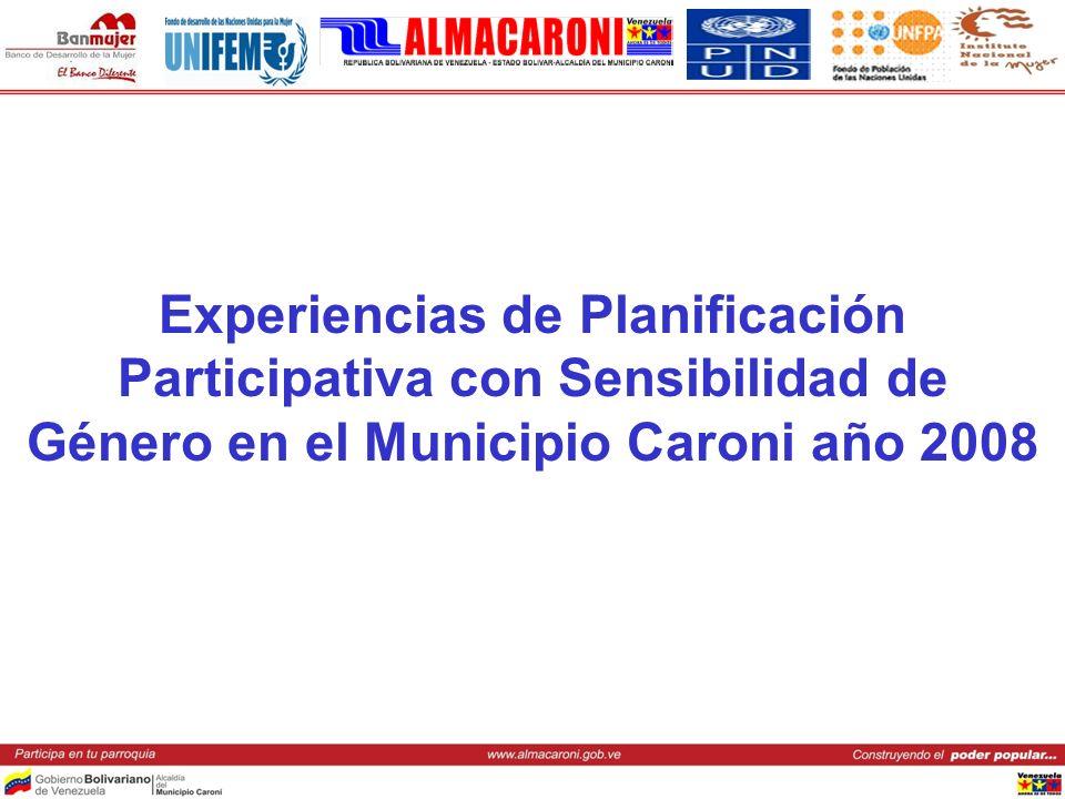 Retos de ALMACARONI para la formulación del PPP con Sensibilidad de Género 2009 Formular objetivos y metas con enfoque de Género que permitan medir con indicadores, el avance en la materia.