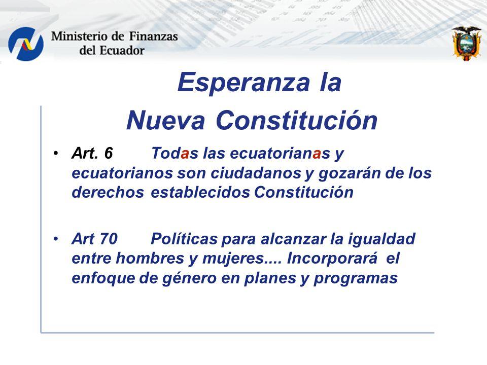 Nueva Constitución Art.
