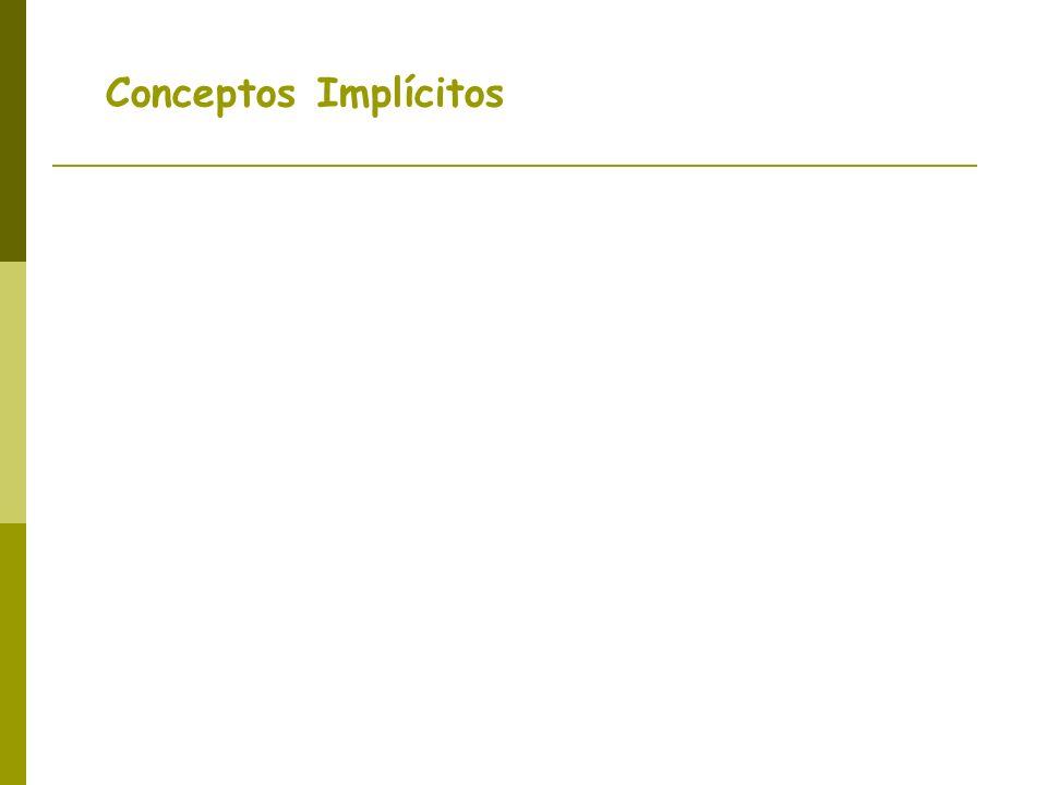 Conceptos Implícitos