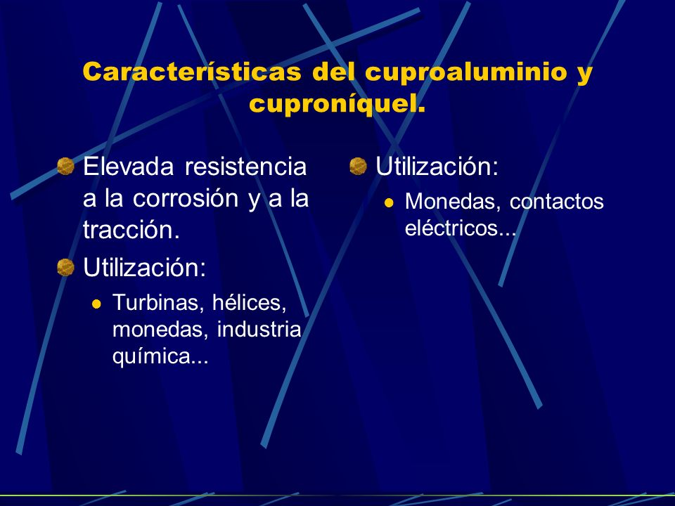 Características del latón. Latones ordinarios. Disminuye la maleabilidad y la ductibilidad. Latones especiales. Facilidad ante la maquinibilidad. Util