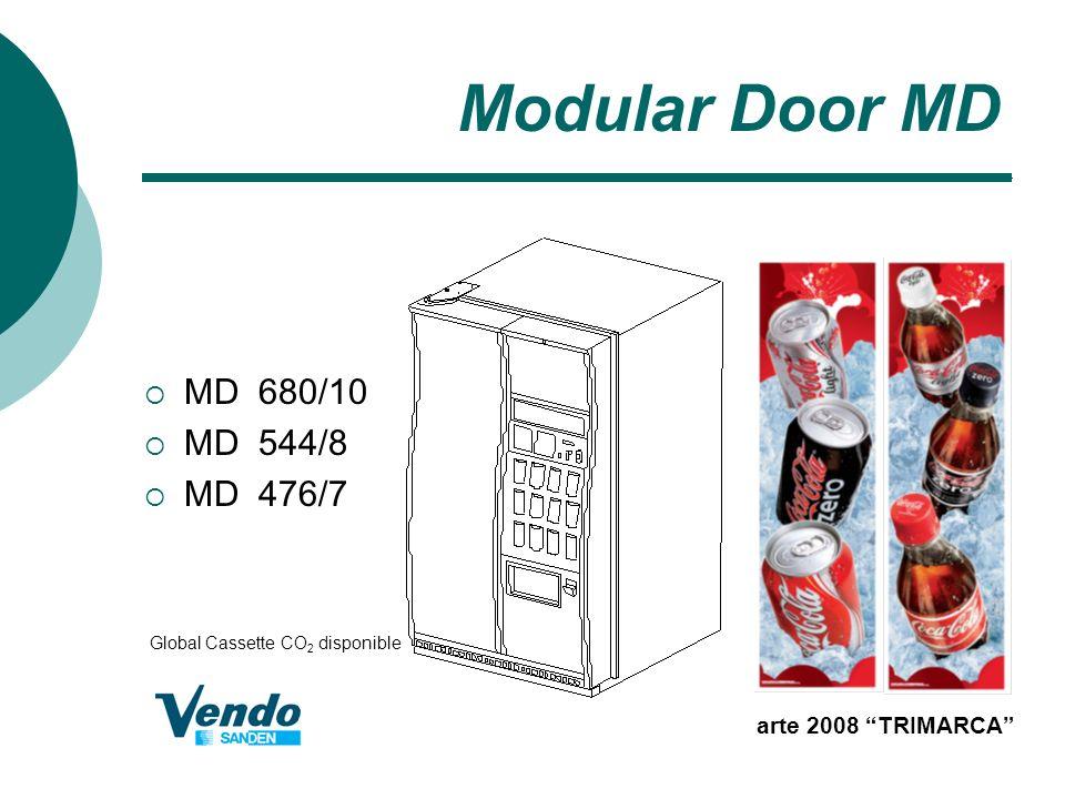 Modular Door MD arte 2008 TRIMARCA MD 680/10 MD 544/8 MD 476/7 Global Cassette CO 2 disponible