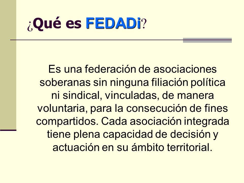 FEDADi ¿ Qué es FEDADi .