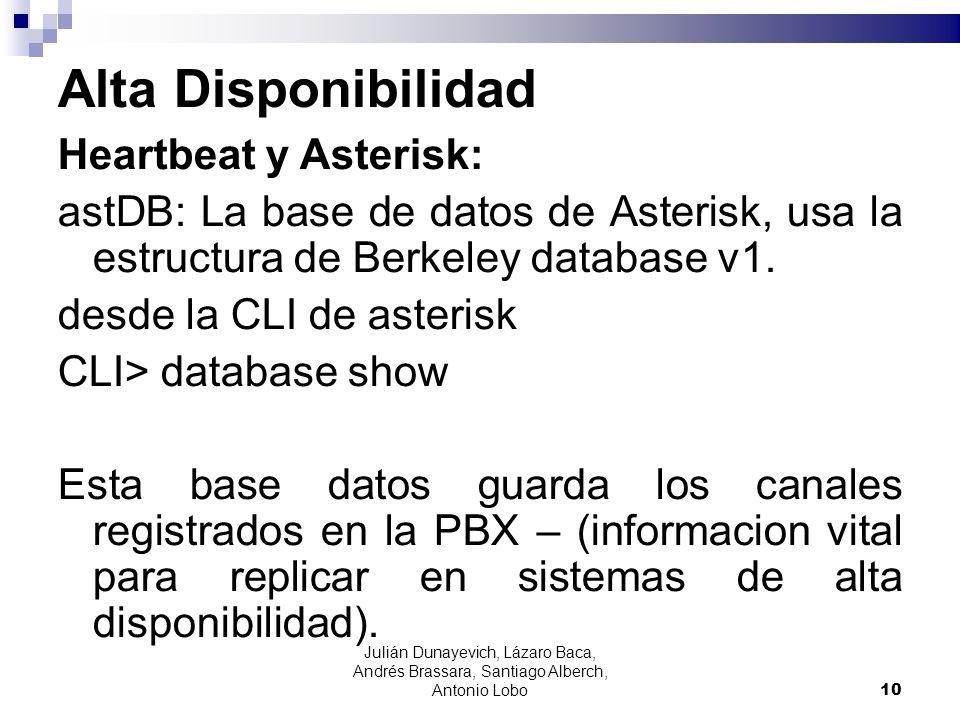 Alta Disponibilidad Heartbeat y Asterisk: astDB: La base de datos de Asterisk, usa la estructura de Berkeley database v1. desde la CLI de asterisk CLI