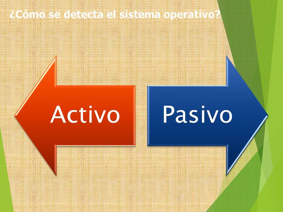 ¿Cómo se detecta el sistema operativo?