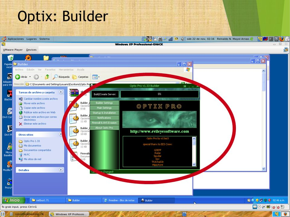 Optix: Builder