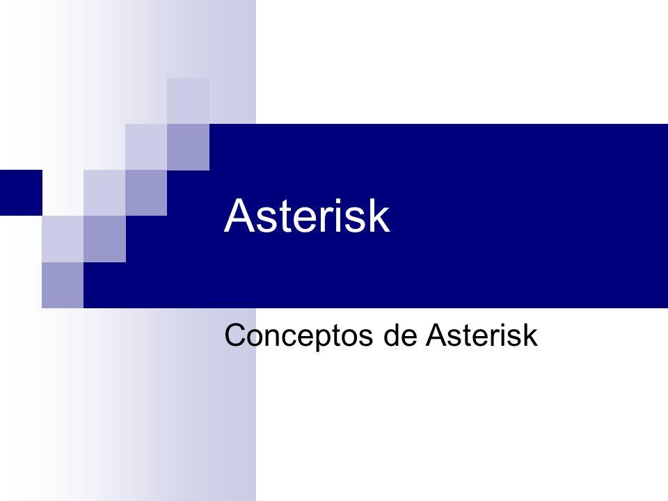 Asterisk Conceptos de Asterisk