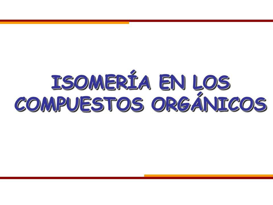 Isomería: resumen