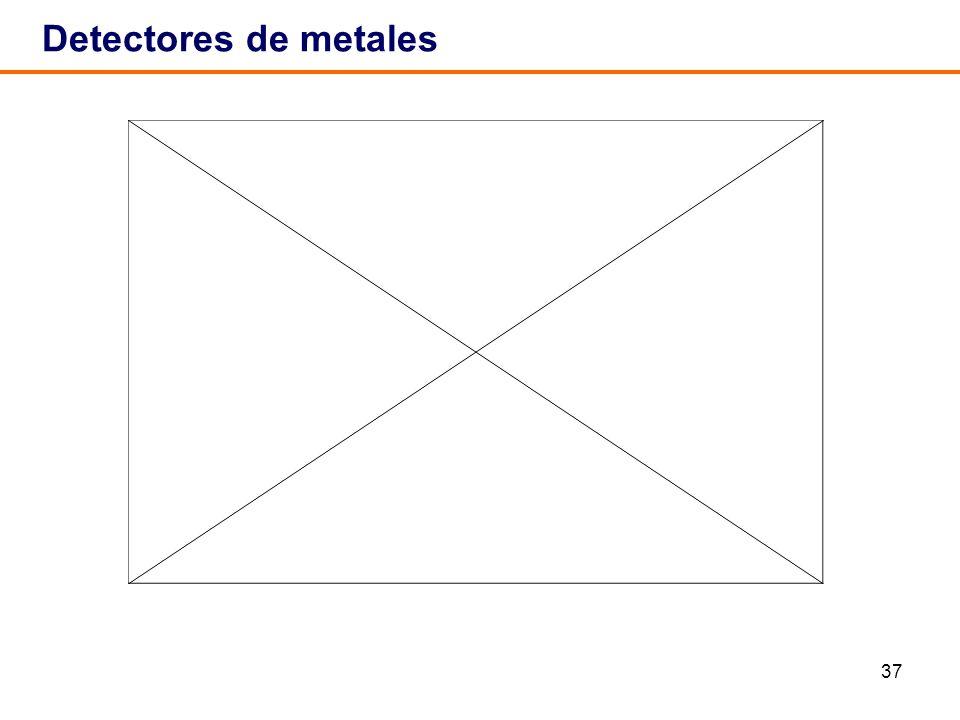 37 Detectores de metales