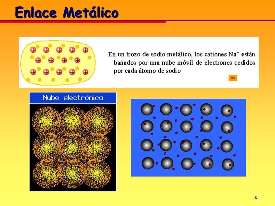 35 Enlace Metálico