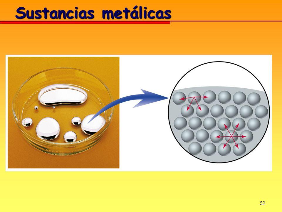 52 Sustancias metálicas