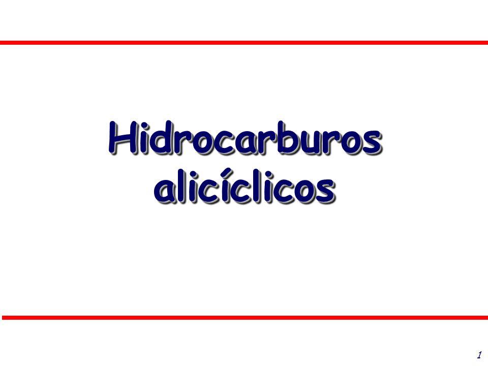1 Hidrocarburos alicíclicos