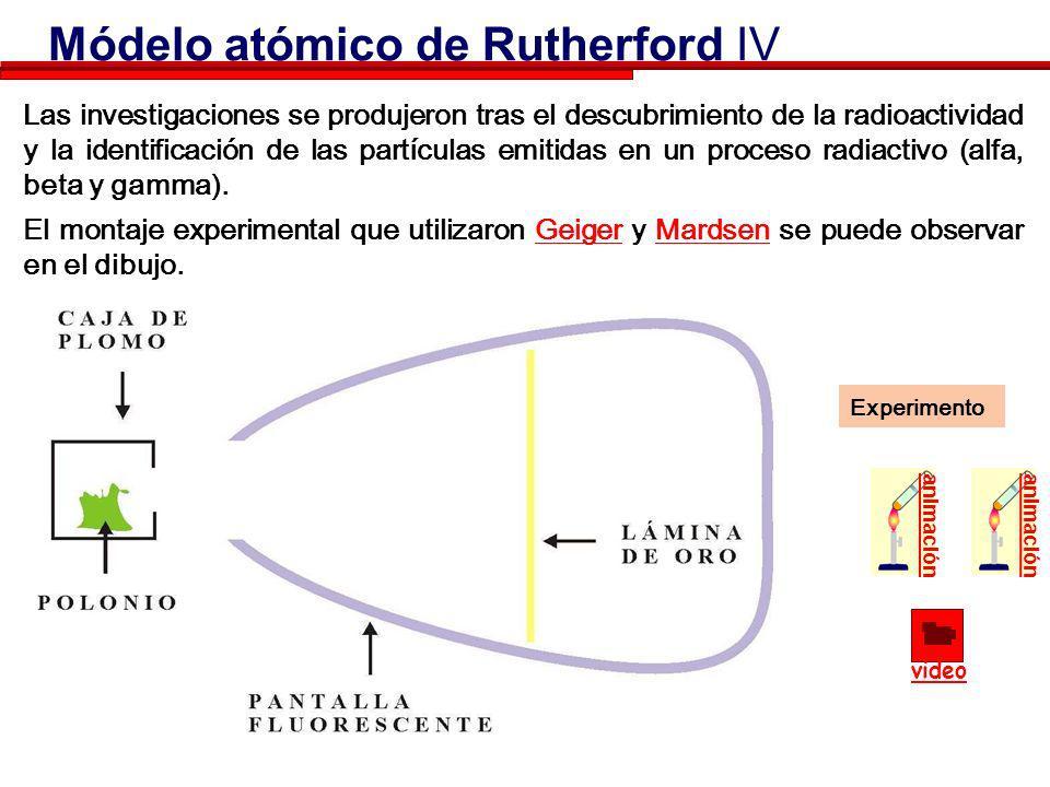 La teoría de Thomson está basada en la hipótesis de que la dispersión (desviación) debida a un simple choque de una partícula alfa con un átomo es peq
