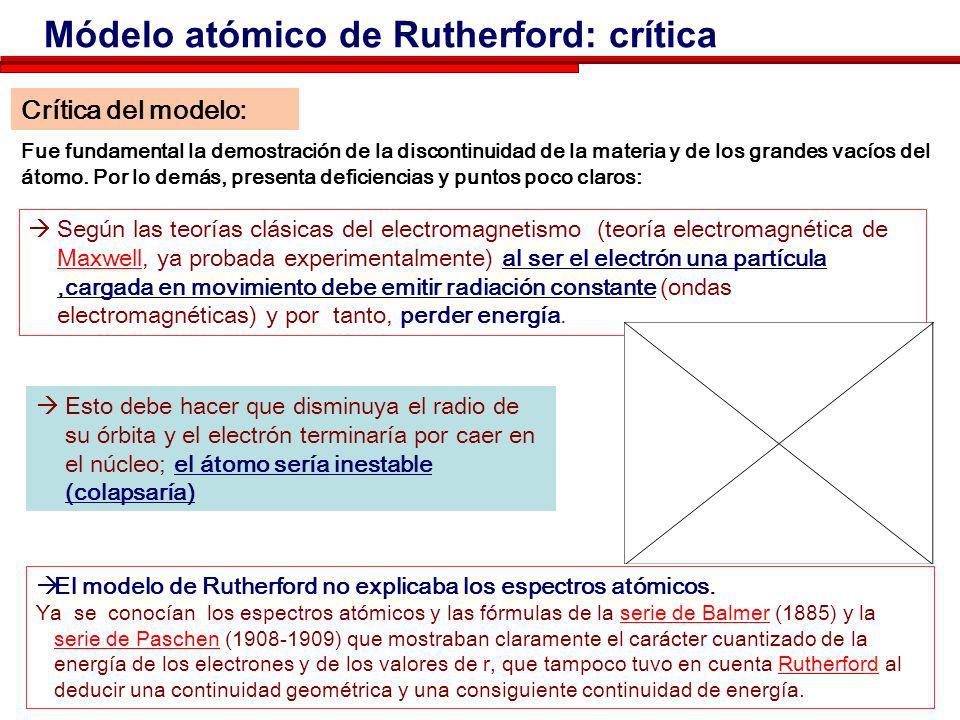 Módelo atómico de Rutherford: Ejercicios Masa isótopica: Es la masa de un determinado isótopo de un elemento Abundancia isotópica: Es la cantidad rela