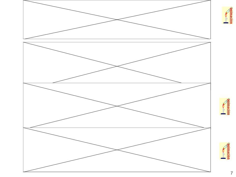28 Ejemplo 1: El conjunto de las líneas visibles del espectro del hidrógeno reciben el nombre de serie de Balmer y corresponden con transiciones entre niveles superiores al segundo hasta dicho nivel (n=2).