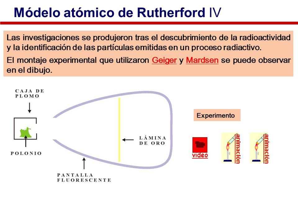 Las investigaciones se produjeron tras el descubrimiento de la radioactividad y la identificación de las partículas emitidas en un proceso radiactivo.