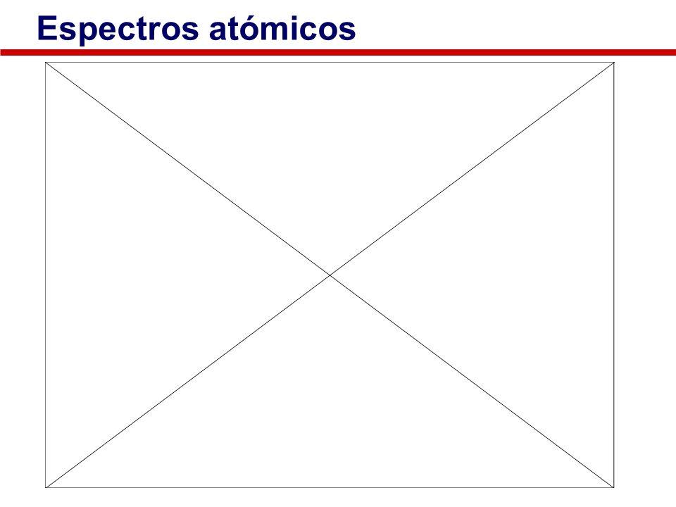 Espectros atómicos