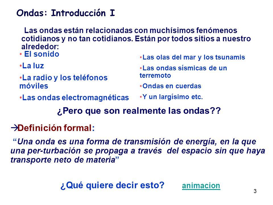 4 Ondas: Introducción II.