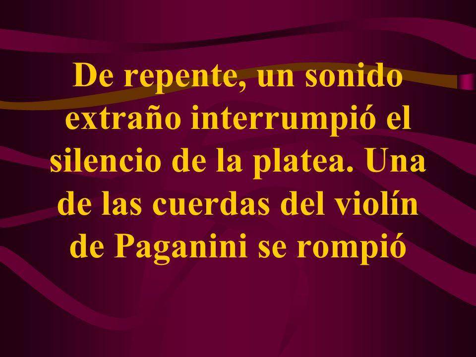 Despertemos al Paganini que existe dentro de nosotros.