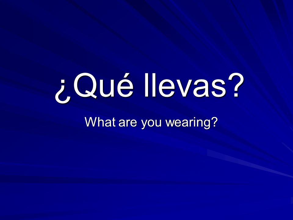 el vocabulario La chaqueta La falda El vestido El paraguas La camisa La camiseta Los pantalones