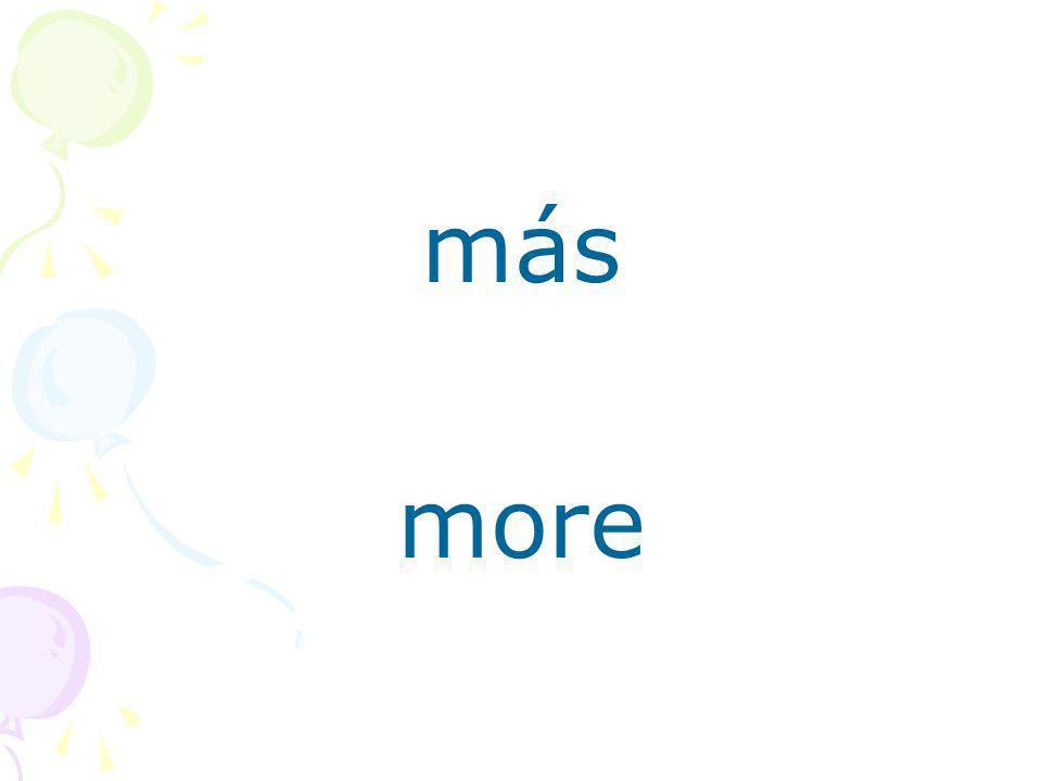 más more