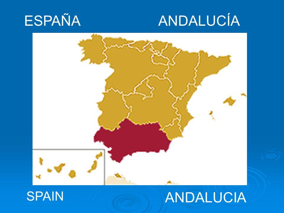 ESPAÑAANDALUCÍA SPAIN ANDALUCIA