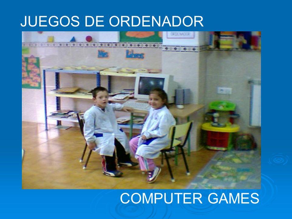 JUEGOS DE ORDENADOR COMPUTER GAMES