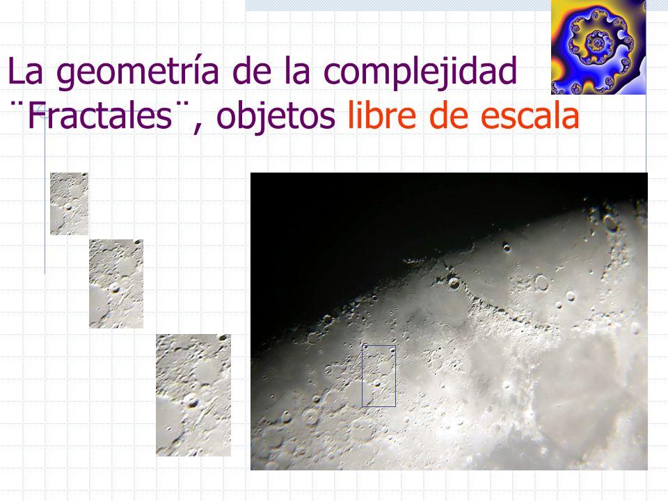La geometría de la complejidad ¨Fractales¨, objetos libre de escala