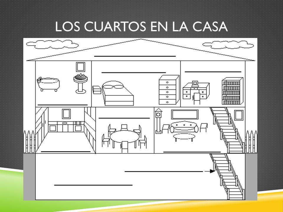 LOS CUARTOS EN LA CASA