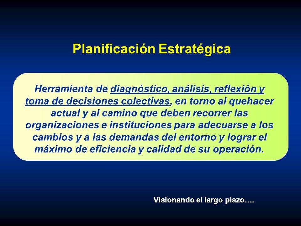 PLANIFICACIÓN AGREGADA Visionando el mediano plazo….