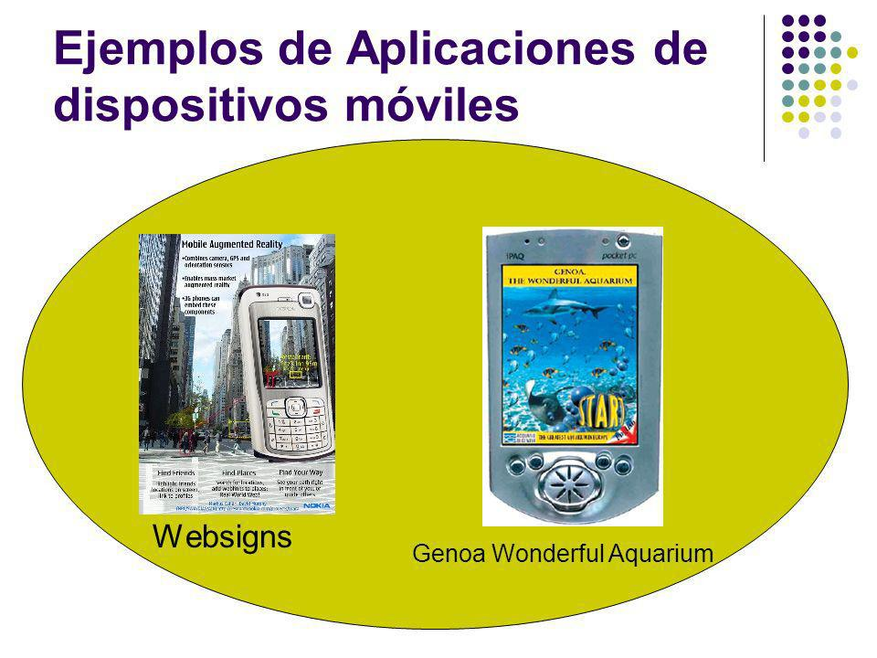 Ejemplos de Aplicaciones de dispositivos móviles Websigns Genoa Wonderful Aquarium