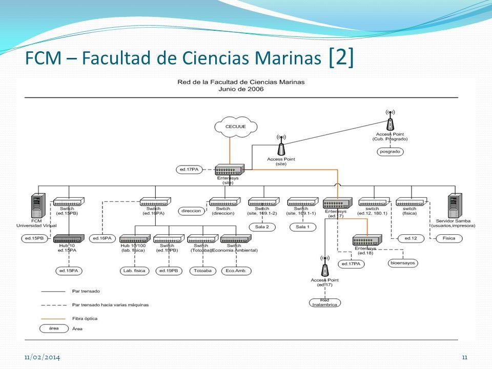 FCM – Facultad de Ciencias Marinas [2] 11/02/201411