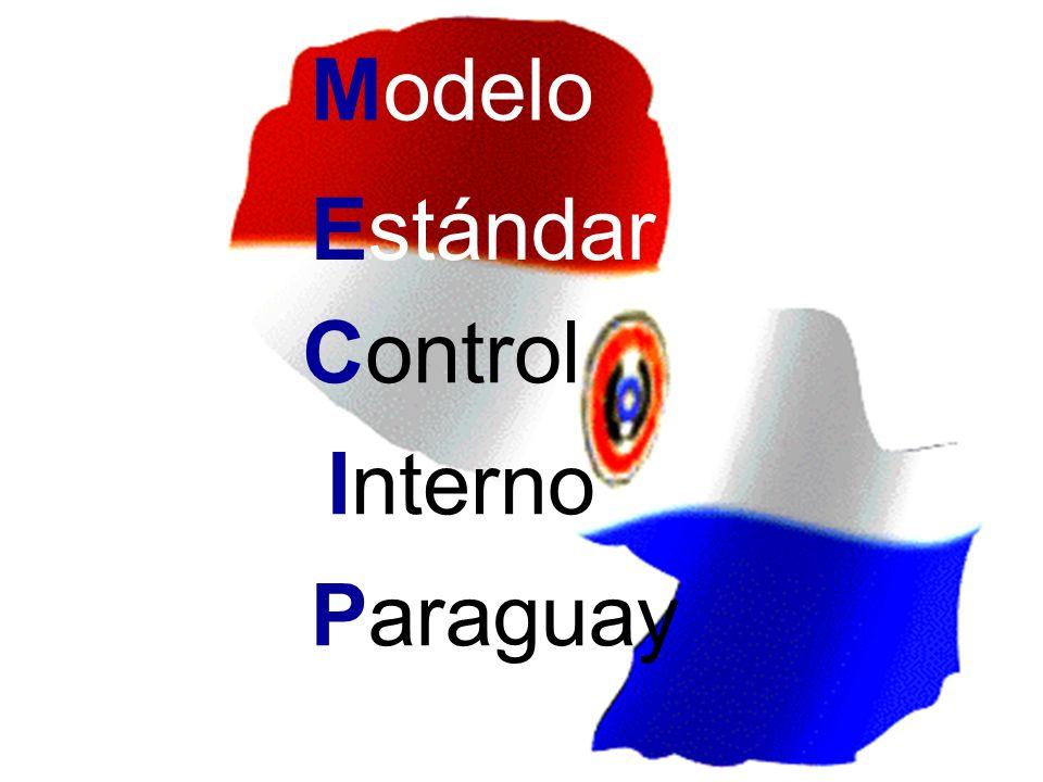 Modelo Estándar Control Interno Paraguay