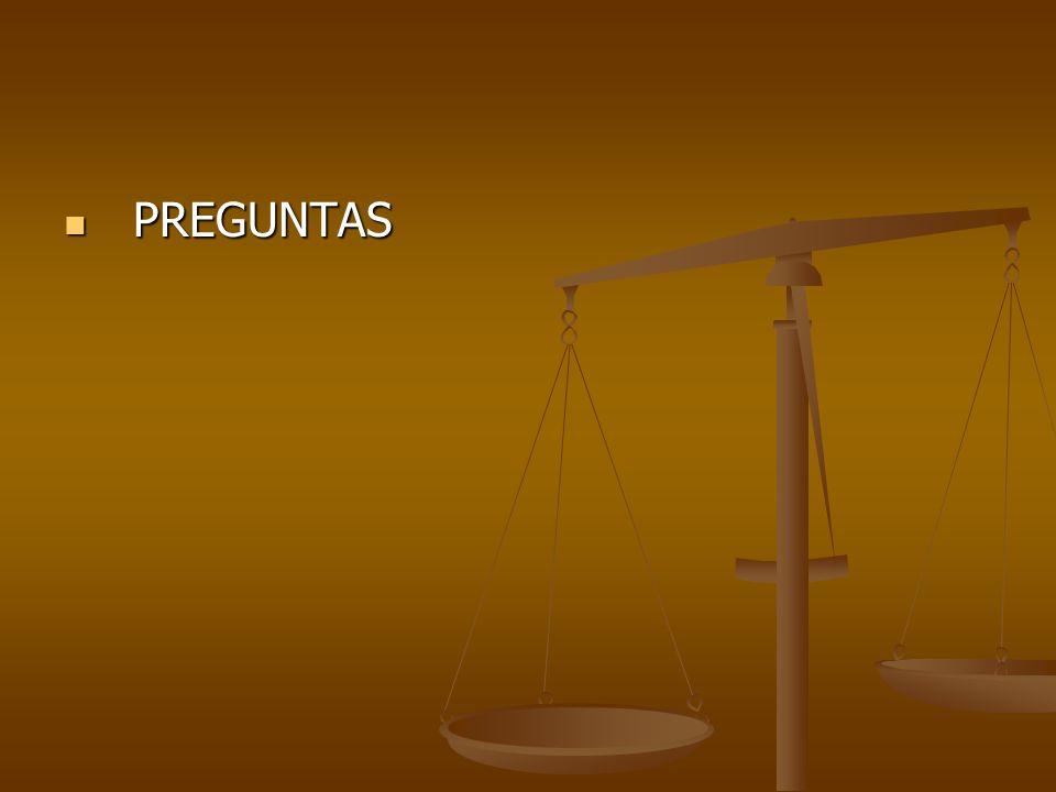 PREGUNTAS PREGUNTAS